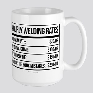Hourly Welding Rates Mugs