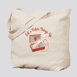 Patch Things Up Tote Bag