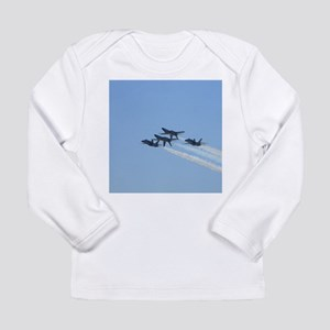 Blue Angels over Texas Long Sleeve T-Shirt