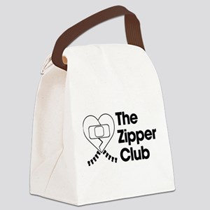The Zipper Club Canvas Lunch Bag
