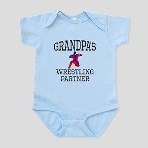 Grandpas Wrestling Partner Body Suit