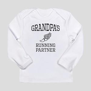 Grandpas Running Partner Long Sleeve T-Shirt