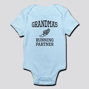 Grandmas Running Partner Body Suit