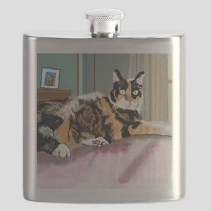 Cali Q Kitten Flask