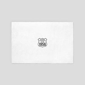 Classic US 1956 4' x 6' Rug