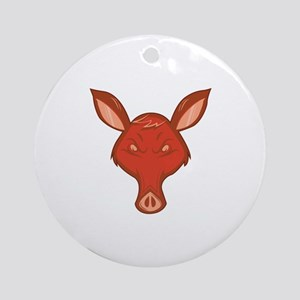 Anteater Ornament (Round)