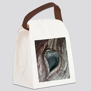Natural Love Canvas Lunch Bag