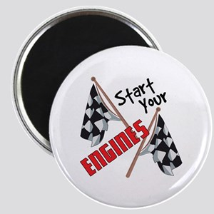Start Your Engines Magnets