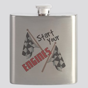 Start Your Engines Flask