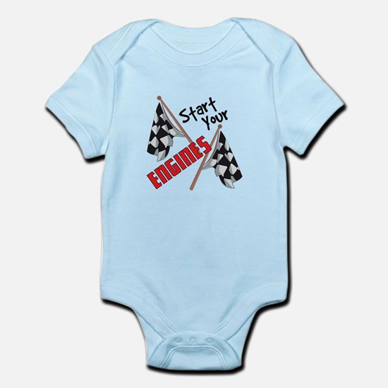 Start Your Engines Body Suit