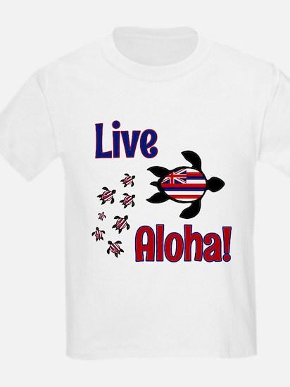 Live Aloha! Hawaii... T-Shirt