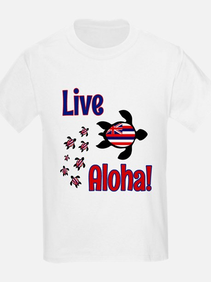 Live Aloha! Hawaii T-Shirt