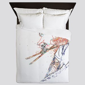 Cliff Jump Queen Duvet