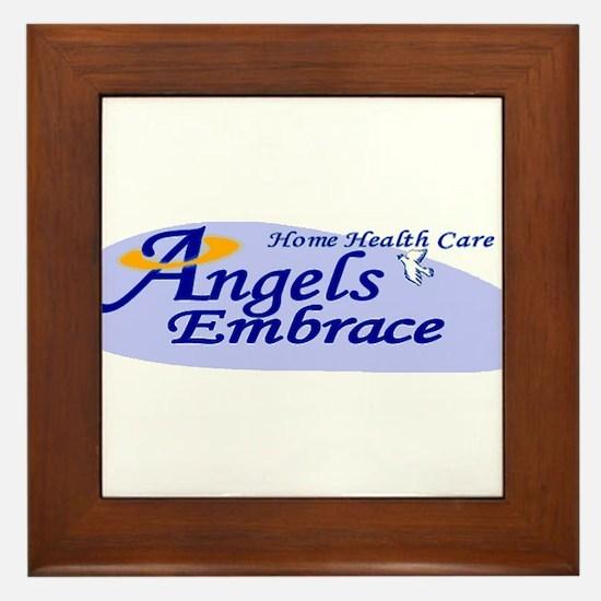 ANGELS EMBRACE Framed Tile