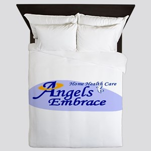 ANGELS EMBRACE Queen Duvet