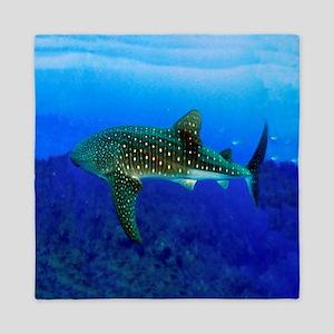 Whale Shark Queen Duvet