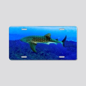 Whale Shark Aluminum License Plate