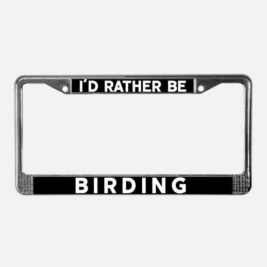 Funny Watcher License Plate Frame