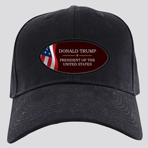 Donald Trump for President V3 Black Cap