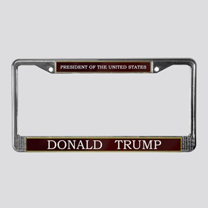 Donald Trump for President V3 License Plate Frame