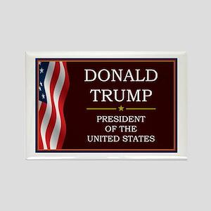 Donald Trump for President V3 Rectangle Magnet