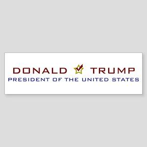 Donald Trump for President USA Sticker (Bumper)