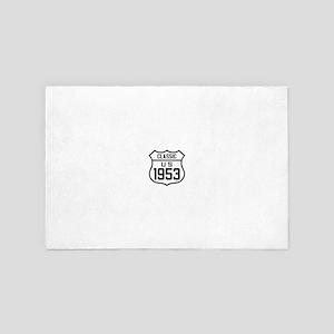 Classic US 1953 4' x 6' Rug