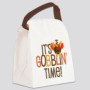 It's Gobblin' Time! Canvas Lunch Bag