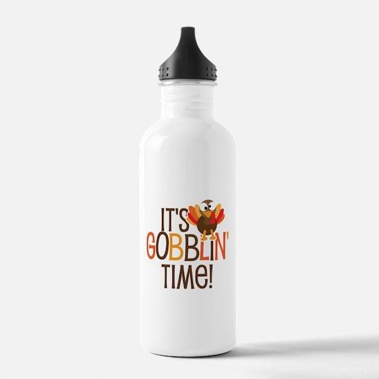 It's Gobblin' Time! Water Bottle