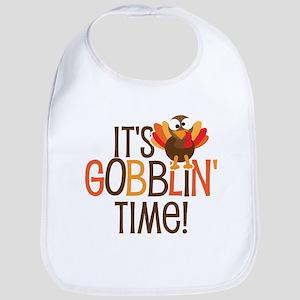 It's Gobblin' Time! Bib