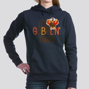 It's Gobblin' Time! Women's Hooded Sweatshirt