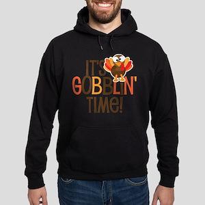 It's Gobblin' Time! Hoodie (dark)