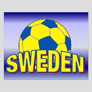 "16""x20"" Small Team Sweden Soccer Poster"