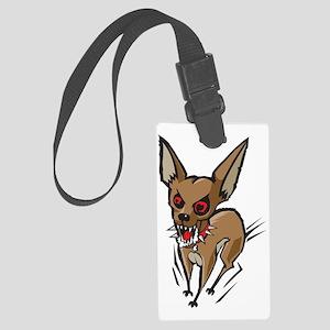 Loco Chihuahua Large Luggage Tag