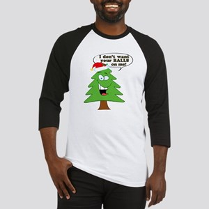 Christmas Tree Harassment Baseball Jersey