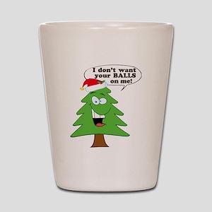Christmas Tree Harassment Shot Glass