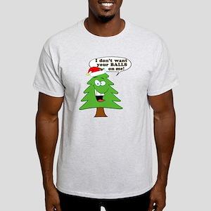 Christmas Tree Harassment Light T-Shirt