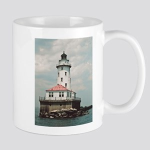 Chicago Navy Pier Lighthouse Mugs