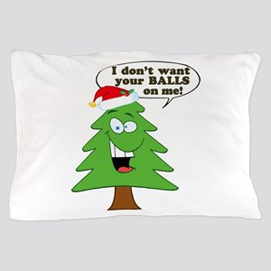 Christmas Tree Harassment Pillow Case