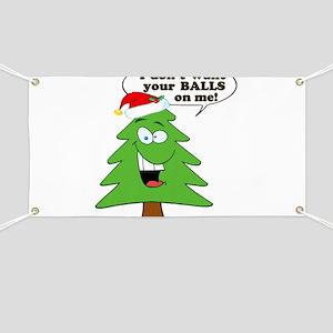 Christmas Tree Harassment Banner