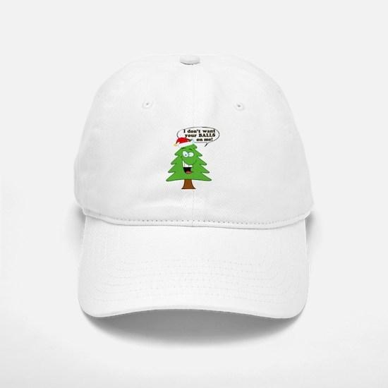 Christmas Tree Harassment Baseball Baseball Cap