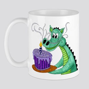Birthday Dragon Mug