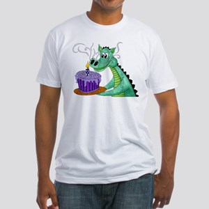 Birthday Dragon Fitted T-Shirt
