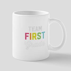 Team 1st First Grade Teacher Back To S Mugs