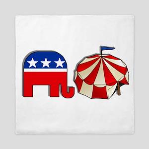 USA Republican Circus Queen Duvet