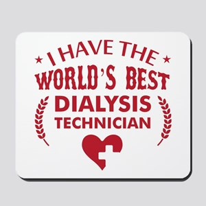 Dialysis Technician Mousepad