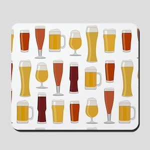 Beer Lover Print Mousepad