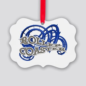 Roller Coaster Picture Ornament