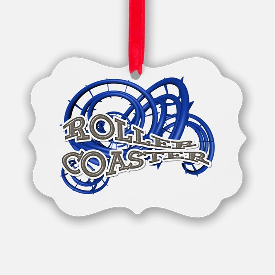 Roller Coaster Ornament