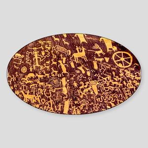 Newspaper Rock Petroglyph Ancient Art Sticker
